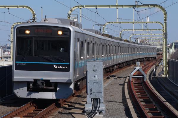 2016-02-10 小田急3656F 各停向ヶ丘遊園行き