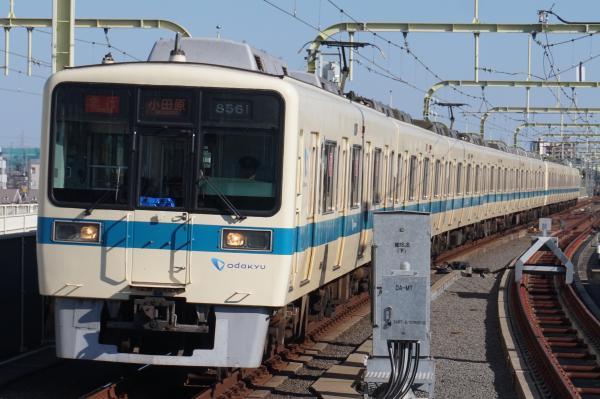 2016-02-10 小田急8061F+8261F 急行小田原行き