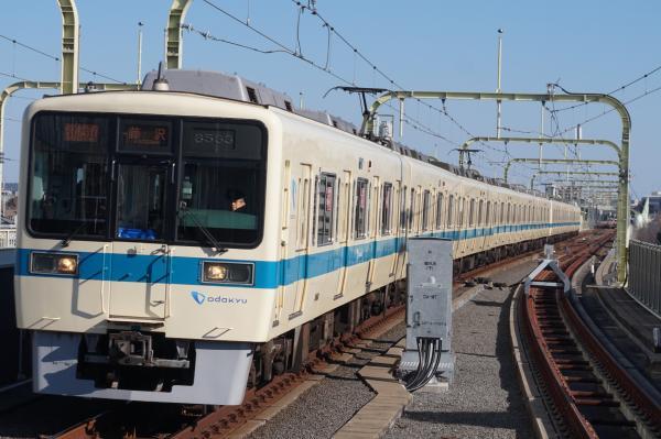 2016-02-10 小田急8063F+8263F 快速急行藤沢行き