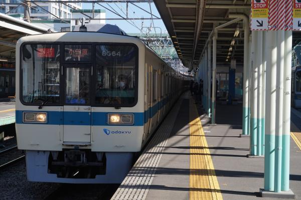 2016-02-10 小田急8064F+8264F 急行小田原行き1