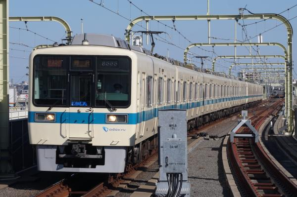 2016-02-10 小田急8065F+8265F 快速急行藤沢行き