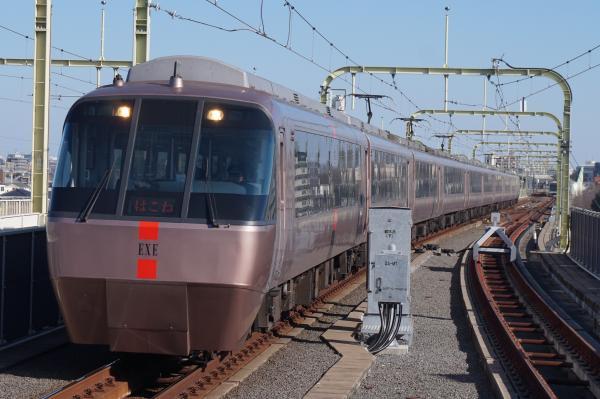 2016-02-10 小田急30000形 はこね号箱根湯本行き