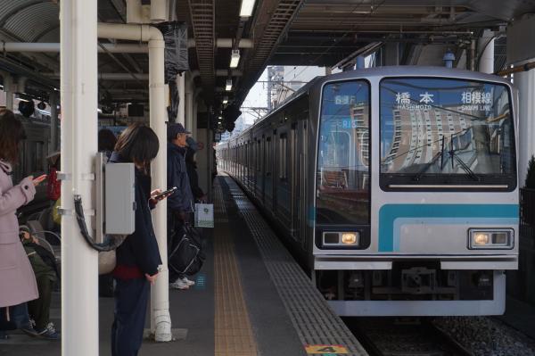 2016-02-10 相模線205系コツR13編成 橋本行き