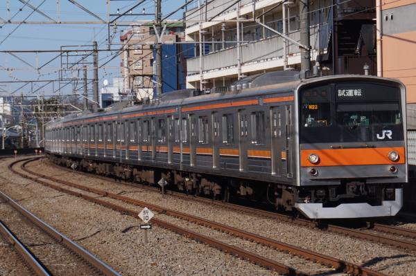2016-02-10 武蔵野線205系ケヨM23編成 試運転