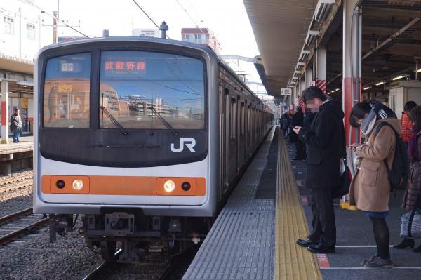 2016-02-10 武蔵野線205系ケヨM35編成 東京行き