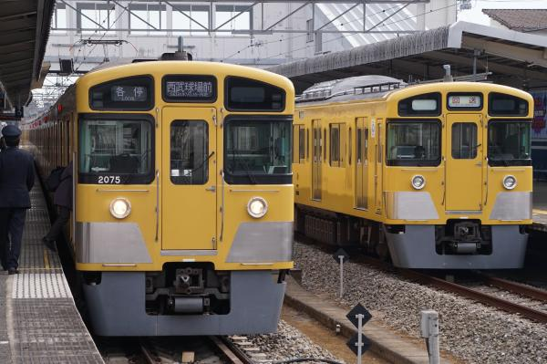 2016-02-13 西武2075F 2503F