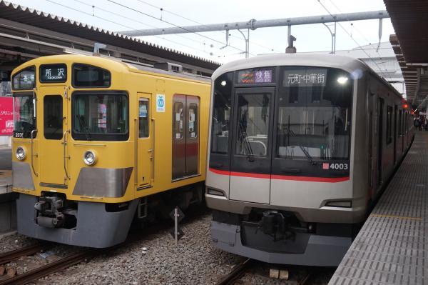 2016-02-13 西武2075F 東急4103F