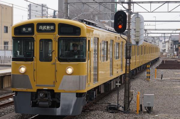 2016-02-13 西武2523F+2535F 各停西武新宿行き 5624レ