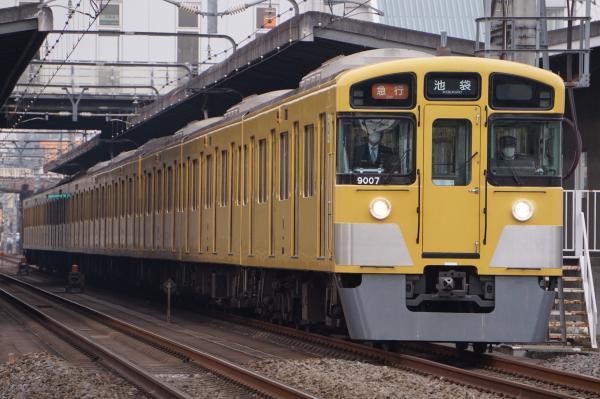 2016-02-13 西武9107F 急行池袋行き 2148レ