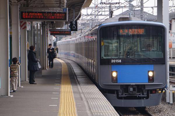 2016-02-13 西武20158F 各停西武球場前行き 5353レ