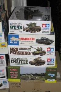 戦車プラモ1