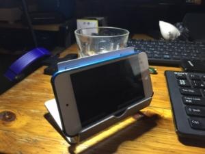 1byoneタブレット、スマートフォン用 アルミススタンド
