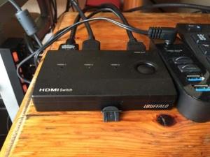 iBUFFALO HDMI切替器 3台用 リモコン付3