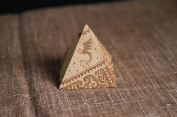 ウッドバーニング・ピラミッド02