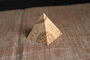ウッドバーニング・ピラミッド07