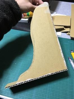 ダンボールで作るファイルボックス01