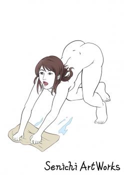 裸で雑巾がけ
