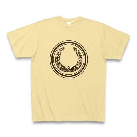 蹄鉄トライバル デザイン01-Brown- Tシャツ