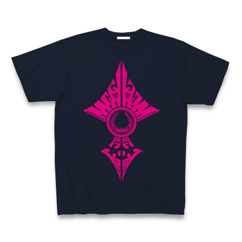蹄鉄トライバル デザイン02-Magenta-  Tシャツ