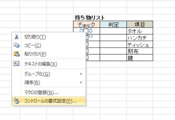 03コントロール書式設定