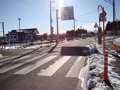 ダイユー前道路