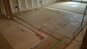 ガス床暖房パネル
