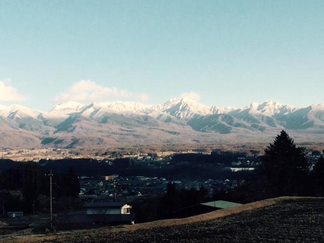八ヶ岳20151229