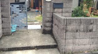 外観門扉2
