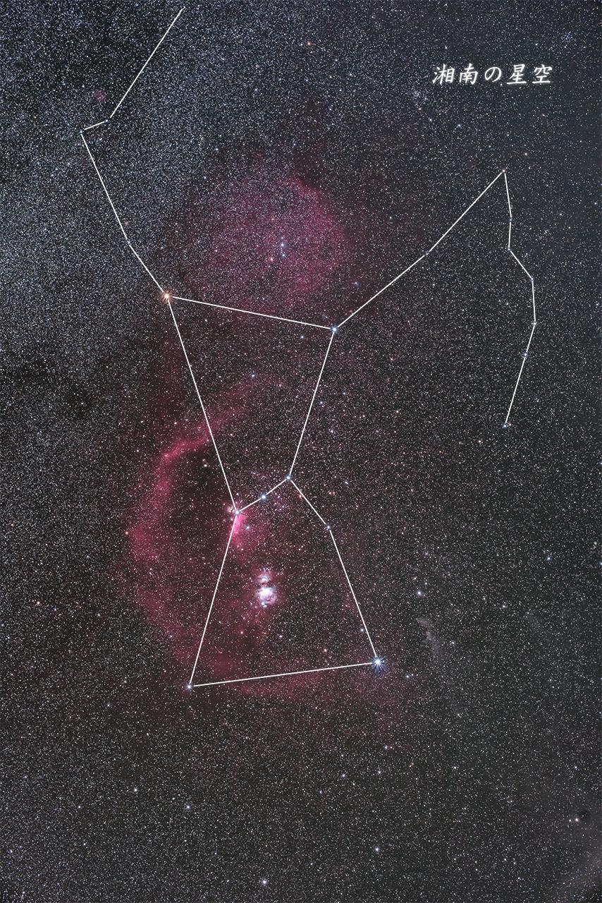20151014_オリオン星座
