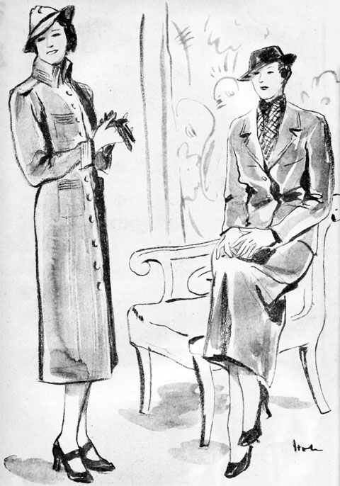 春の服・伊藤龍雄1936apr