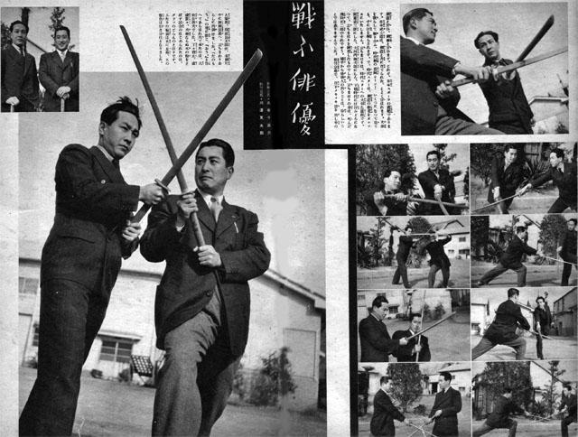 戦ふ俳優1939may
