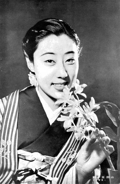山田五十鈴1939may