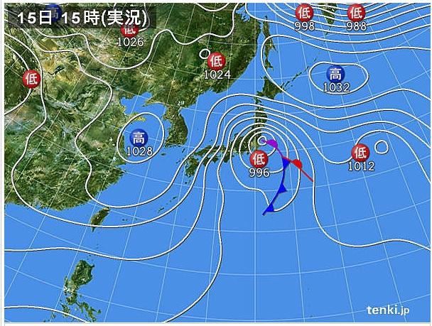 2014215天気図