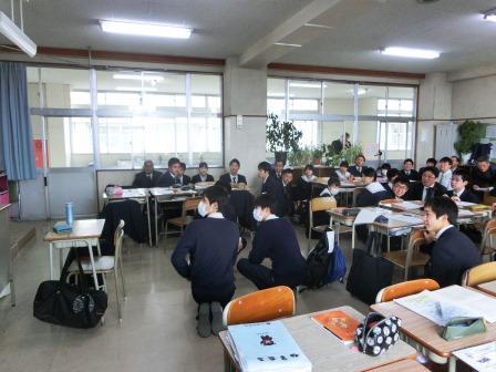 岡山高校授業03