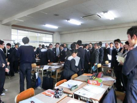 岡山高校授業04