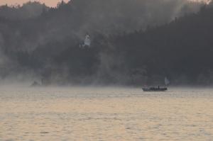 2年前に撮った海霧の写真