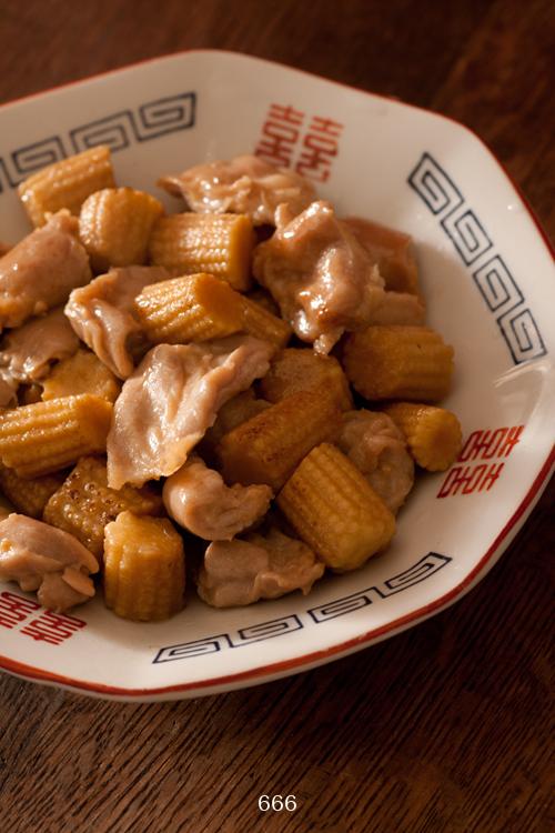 鶏の香ばし醤油炒め