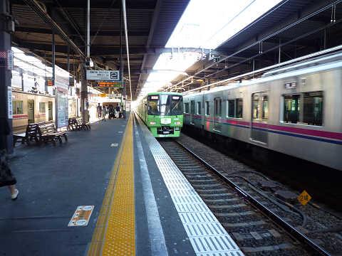 京王線 ラッピング車両 2015 緑