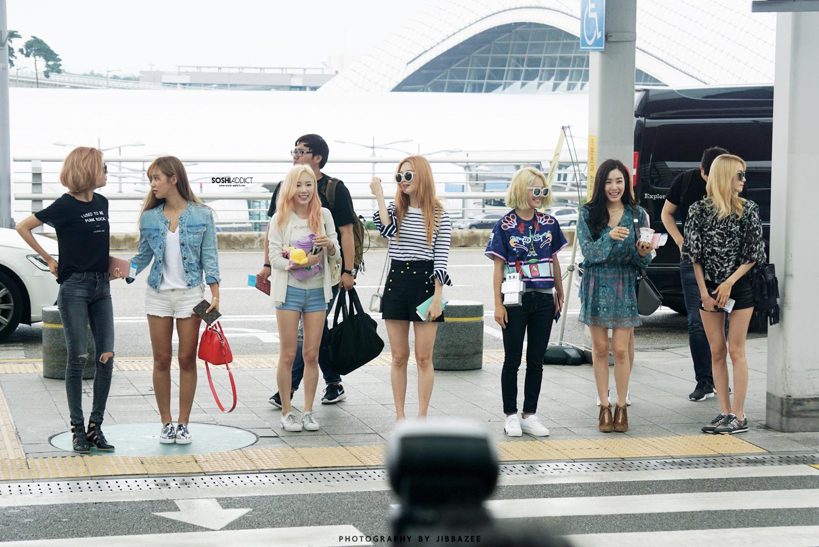 少女時代 空港