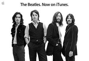Beatles iTunes Add