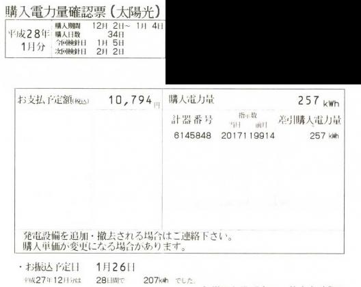 20160119006_2015年12月の売電額