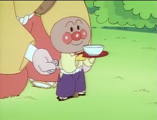 アンパンマンの茶運び人形
