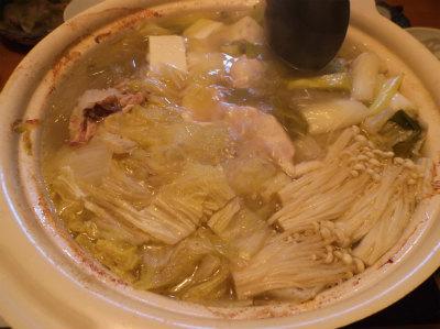 12.25簡単鶏鍋