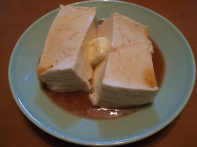 1.6豆腐のバターポン酢