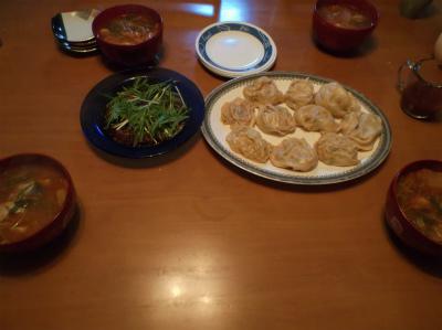 1.9韓流の夕食