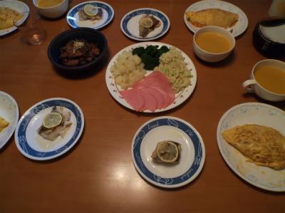 1.10夕食