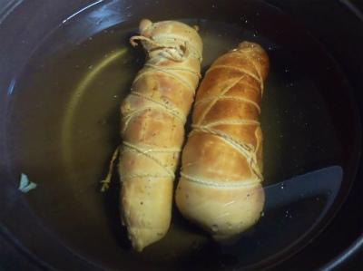 1.24鶏ハム湯通し