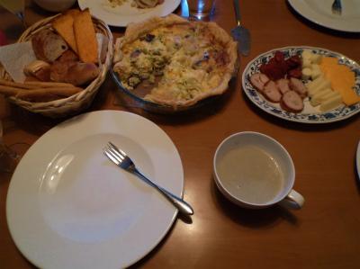 1.26テニス観戦の夕食