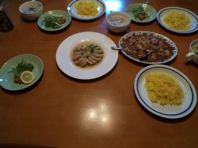 1.30夕食