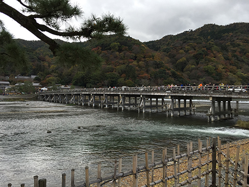 嵐山・渡月橋_H27.11.24撮影